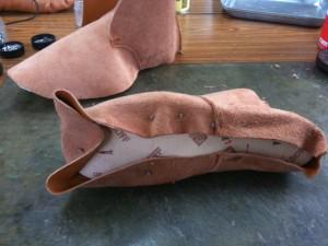 靴作り教室・仮靴作り02