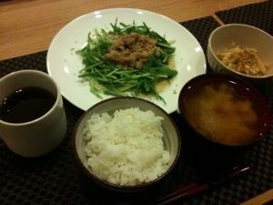 定番の豚の生姜焼き
