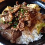 西新「初喜」で焼肉丼ランチ