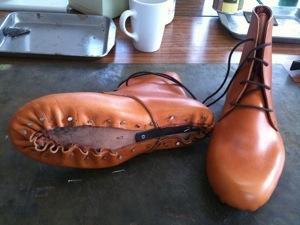 靴作り教室・つりこみ