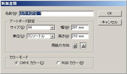 illustlatorで印刷用データを作成する際の超基本