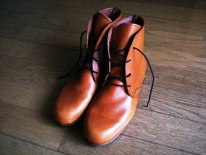 靴できました!