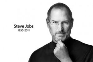スティーブ・ジョブズ氏のご冥福をお祈りいたします。