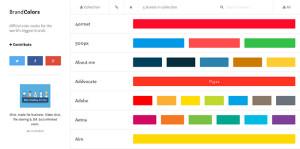 企業のブランドカラーを調べるときに便利なサイト「BrandColors」